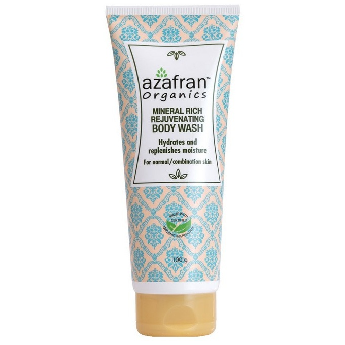 Azafran Mineral Rich Body Wash 100g