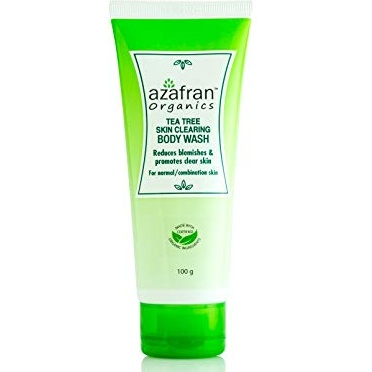 Azafran Tea Tree Body Wash 100g