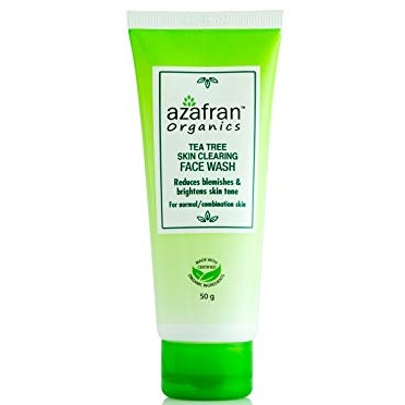 Azafran Tea Tree Face Wash 50g