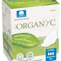 Organ(y)c Cotton pads Moderate flow 10 pcs
