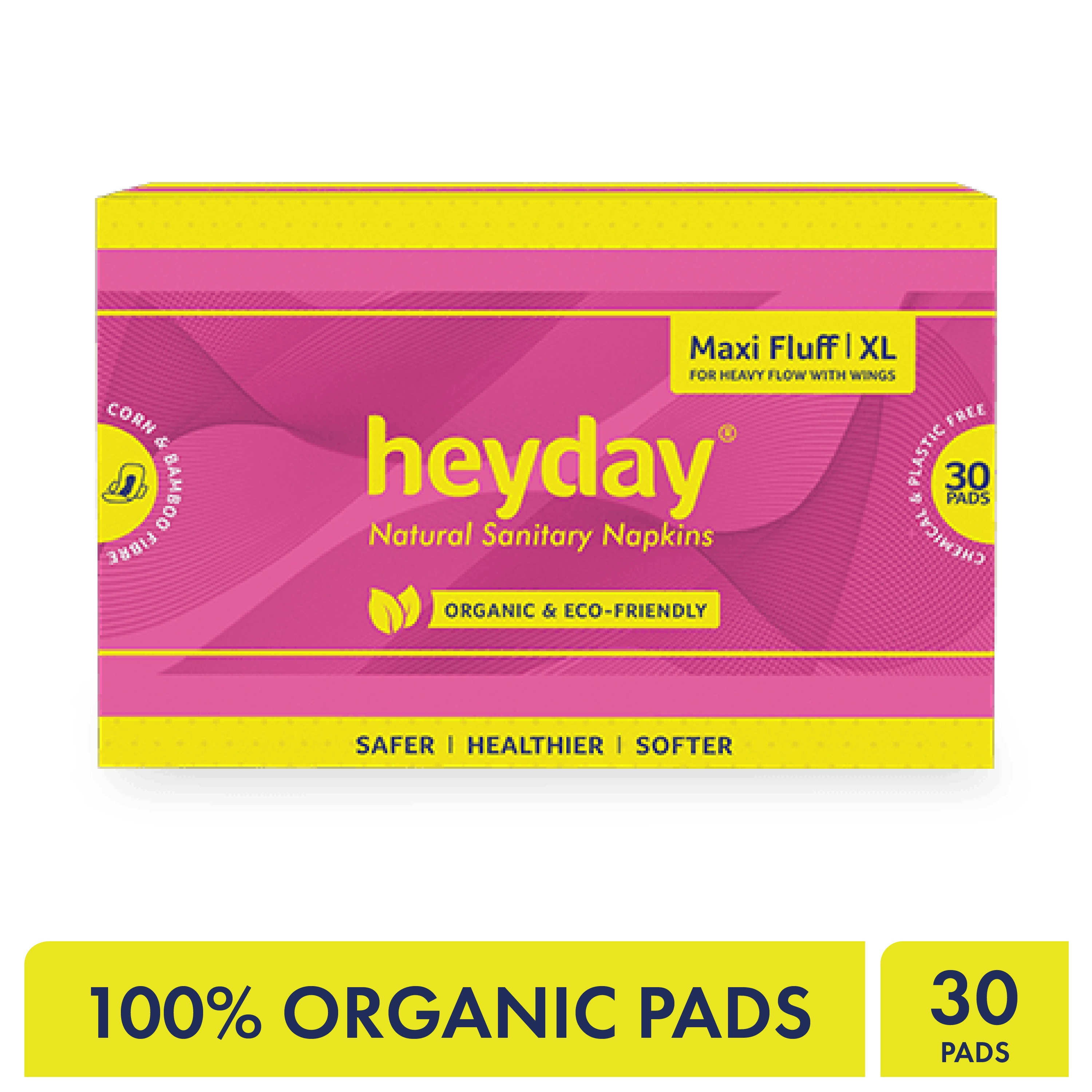 Heyday Sanitary Napkins (Maxi Fluff-30 pack)