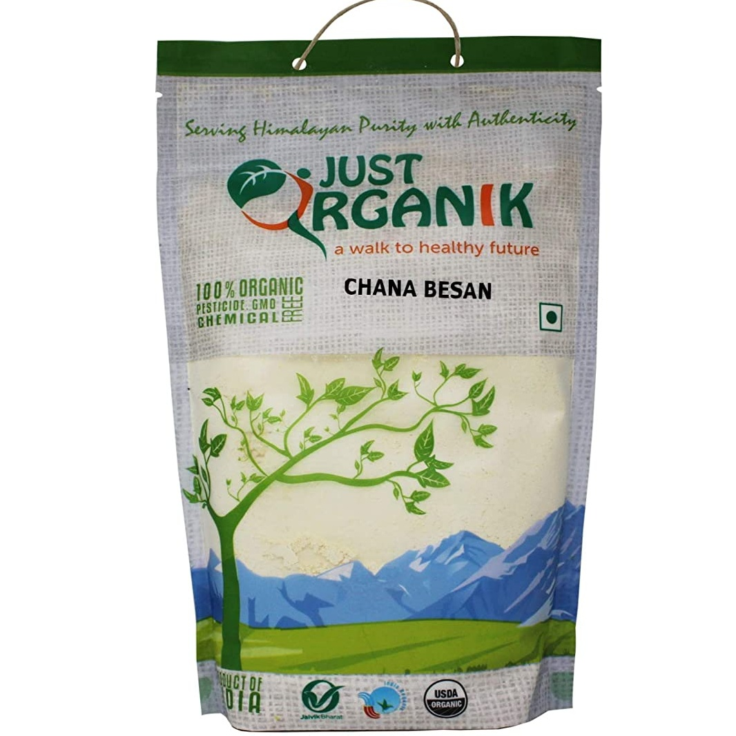 Just OrganiK Chana Besan 500 gm
