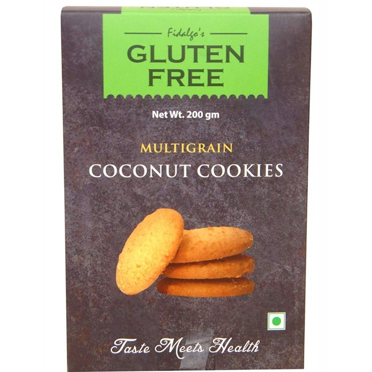 Fidalgo's Multigrain Coconut Cookies 200 gm