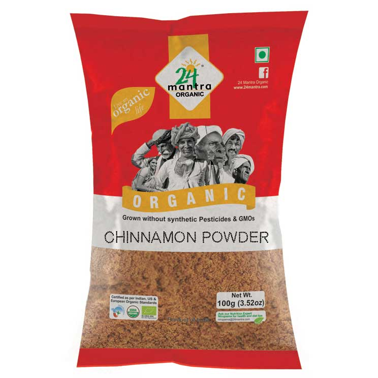 24 Mantra Cinnamon(cassia) Powder 100gms