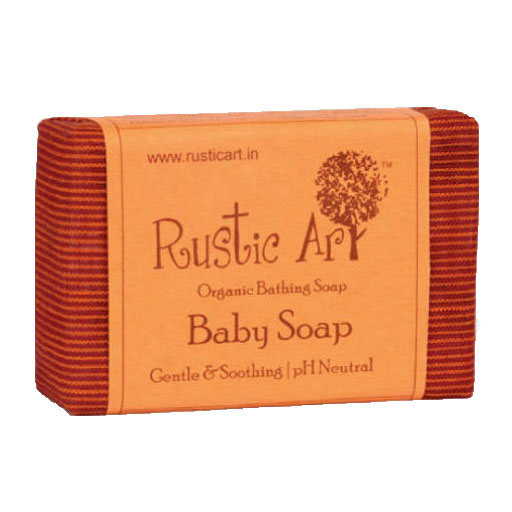 Rustic Art Baby Soap