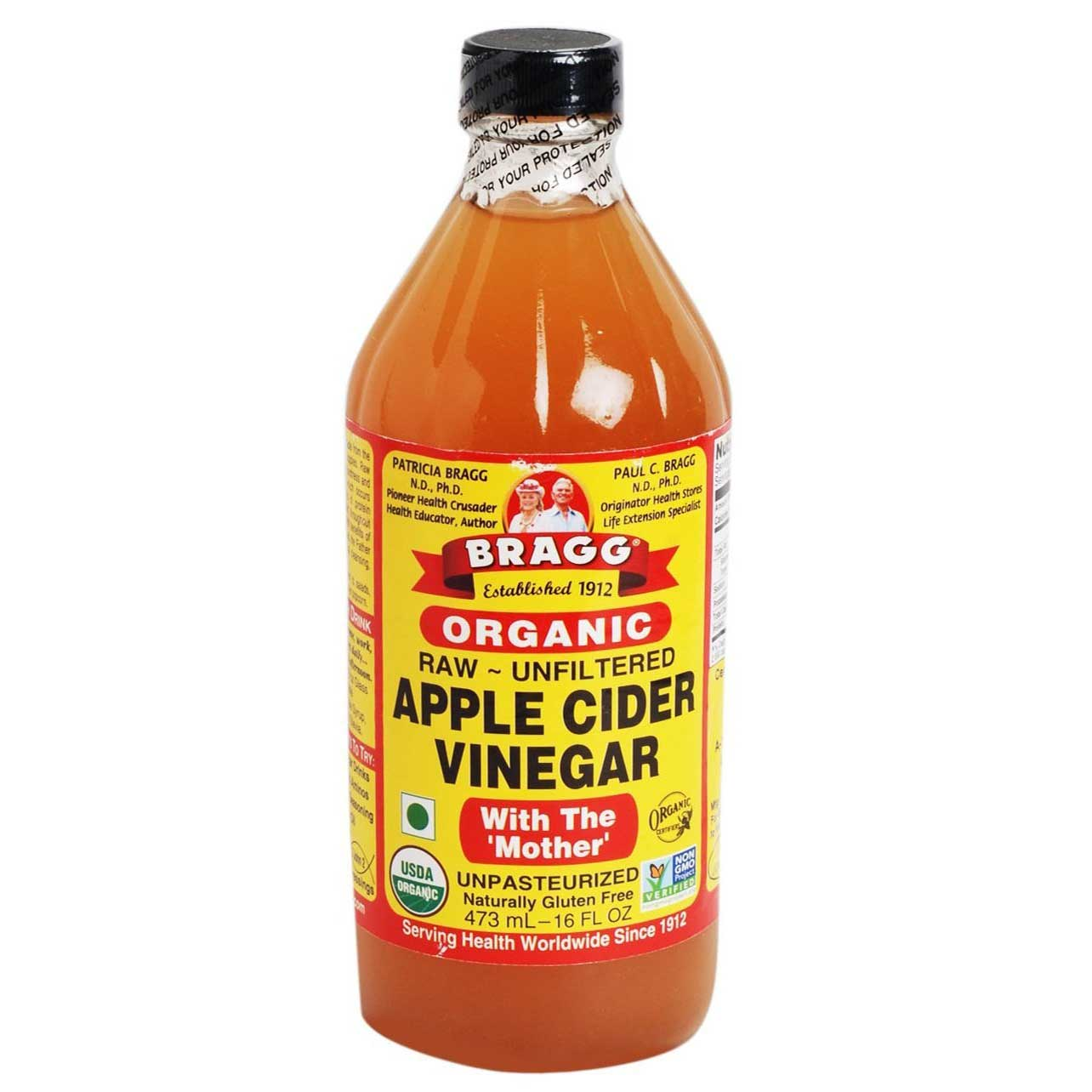 Bragg Apple Cider Vinegar, 16 oz(473 ml)