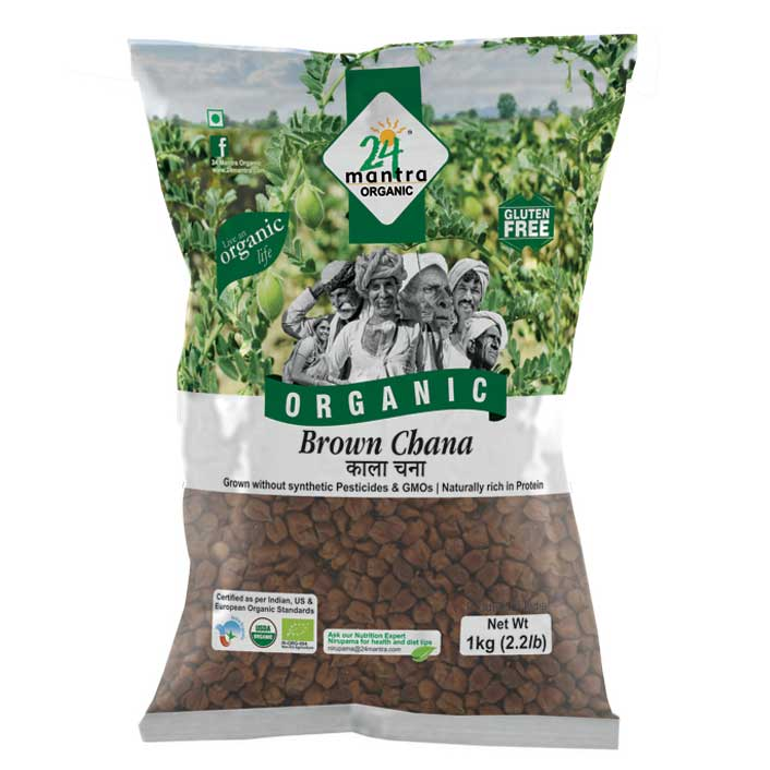 24 Mantra Brown Chana 500 gms