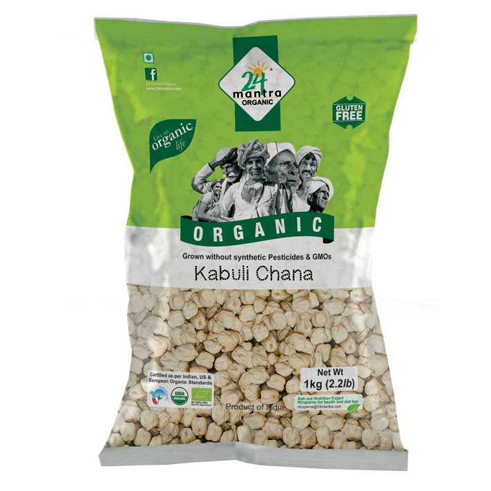 24 Mantra Kabuli Chana 500gm
