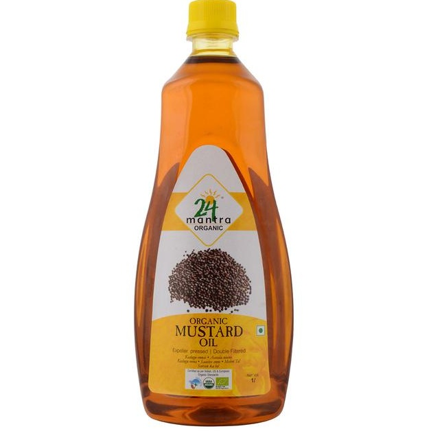 24 Mantra Mustard Oil 1ltr