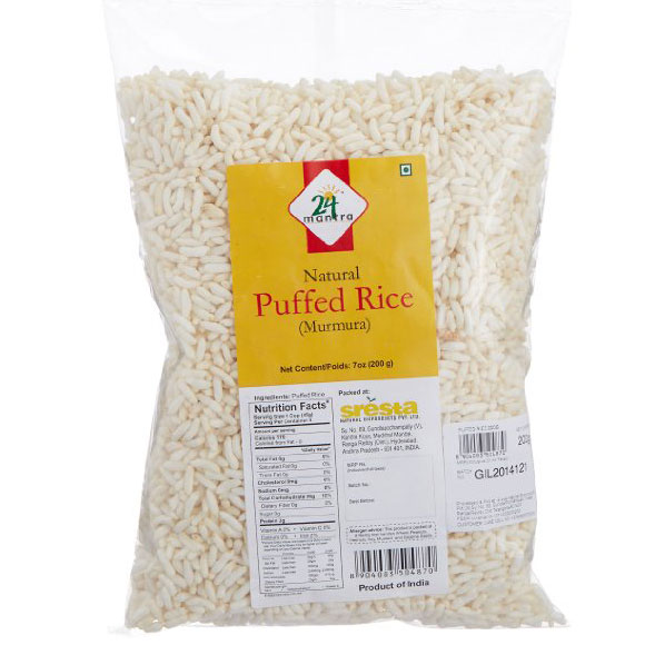 24 Mantra Puffed Rice 200gm