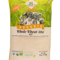 24 Mantra Whole Wheat Atta 5 Kg