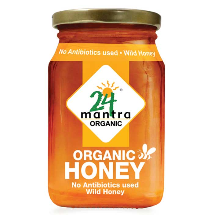 24 Mantra Multiflower Honey 250gm