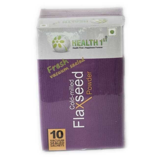 Health First Ground Flaxsed Powder 150 gm