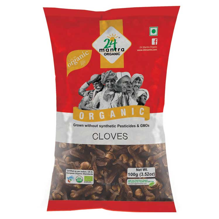 24 Mantra Cloves 50 gms