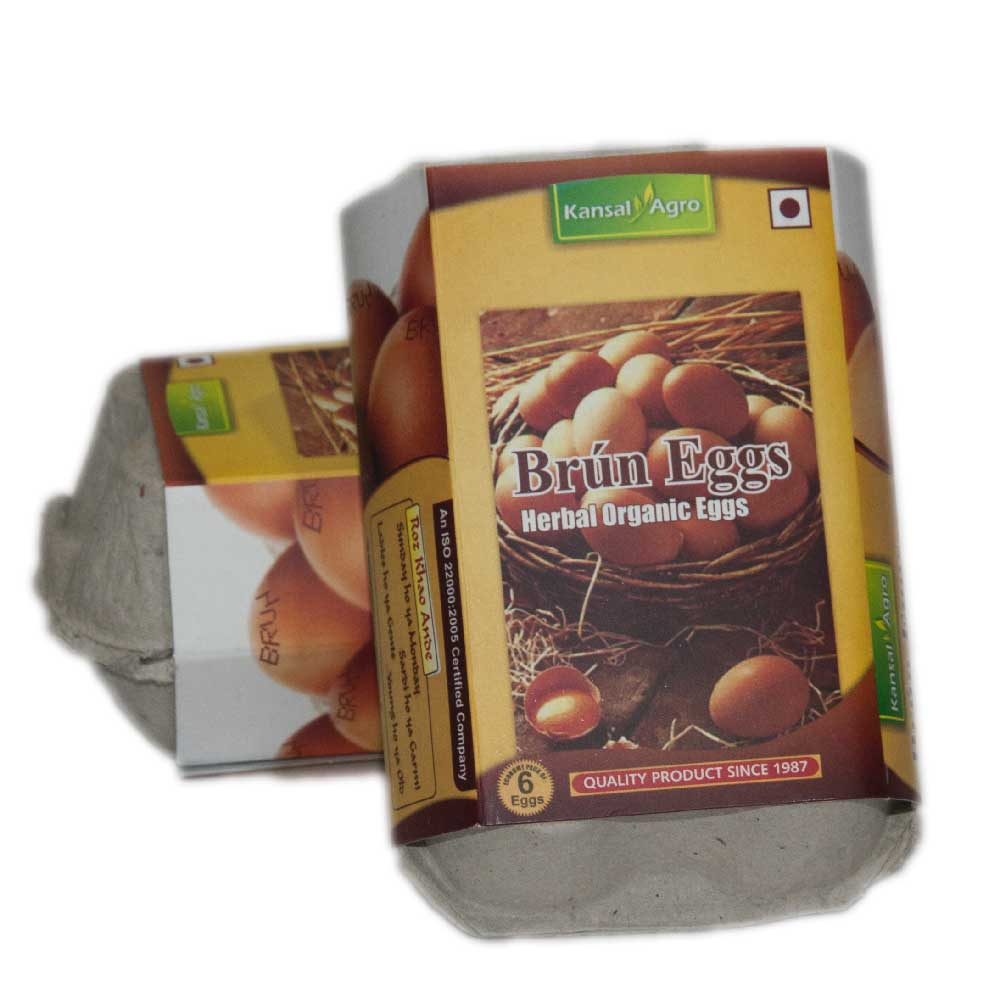 Kansal Brun Eggs (Pack of 6 eggs)