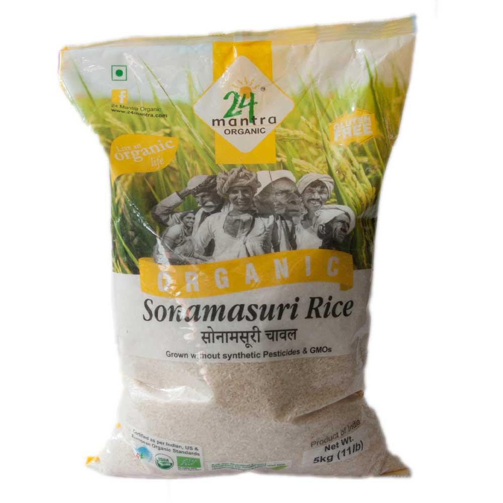 24 Mantra Sonamasuri White Rice 5 Kg