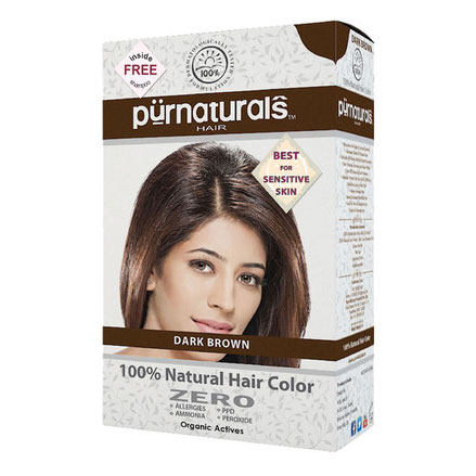Pure Naturals Natural Dark Brown Hair Color